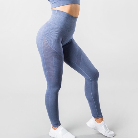 Alphalete Pants Jumpsuits Alphalete Aero Leggings French Blue Sizes Poshmark